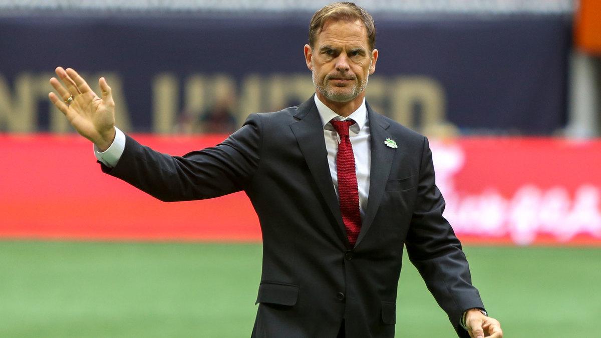 Frank de Boer has Atlanta United in the MLS conference final