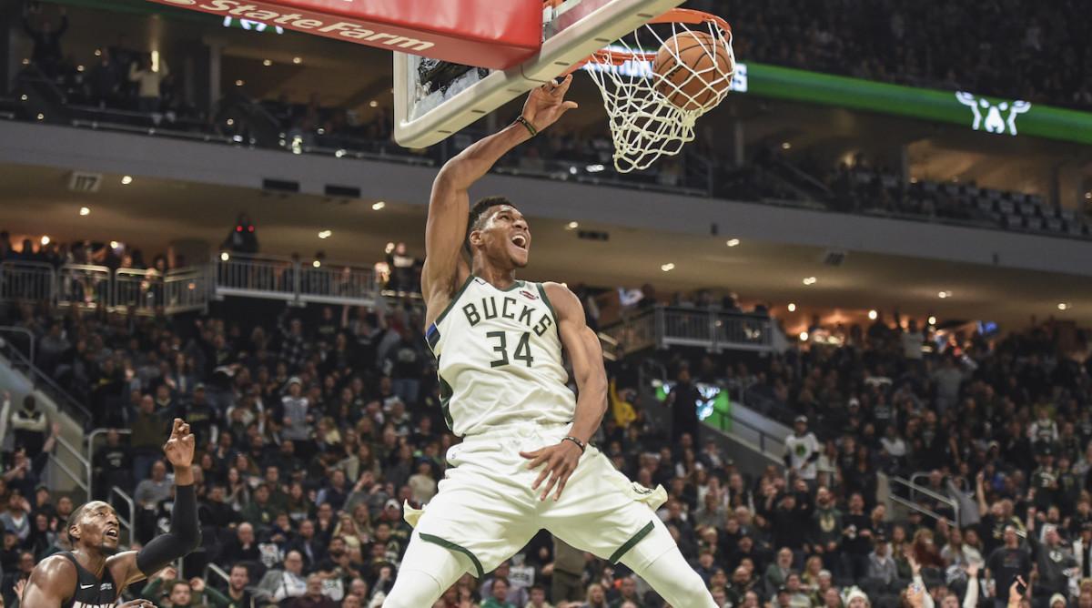 NBA DFS: Giannis Antetokounmpo October 30