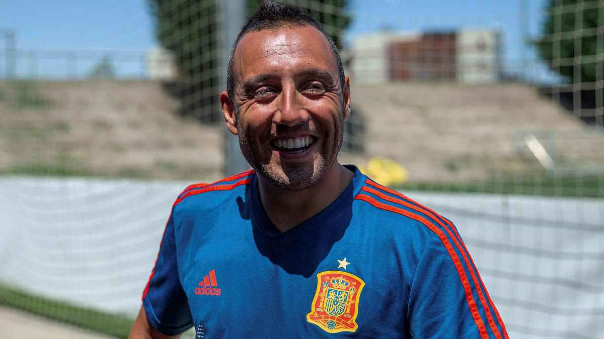 Santi Cazorla remains in Spain's national team picture