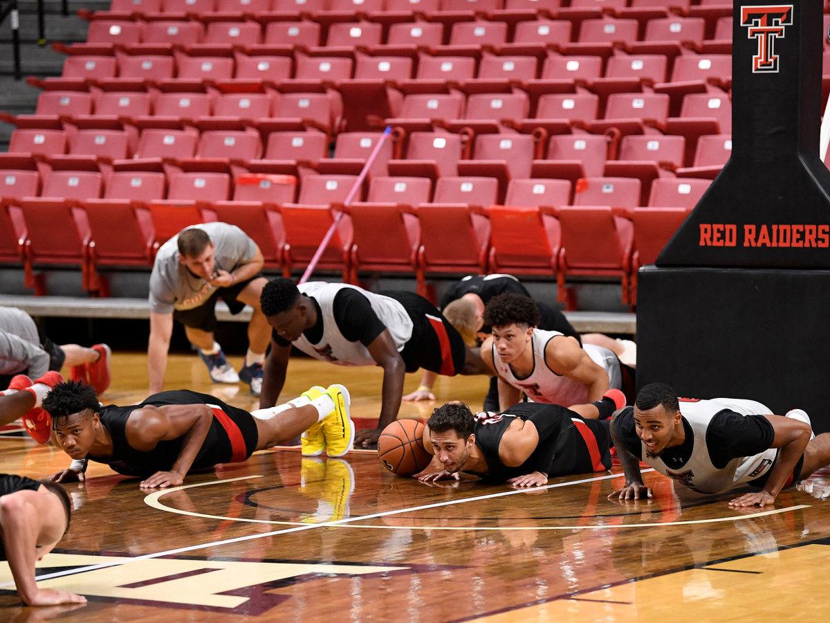 Texas Tech basketball roster players