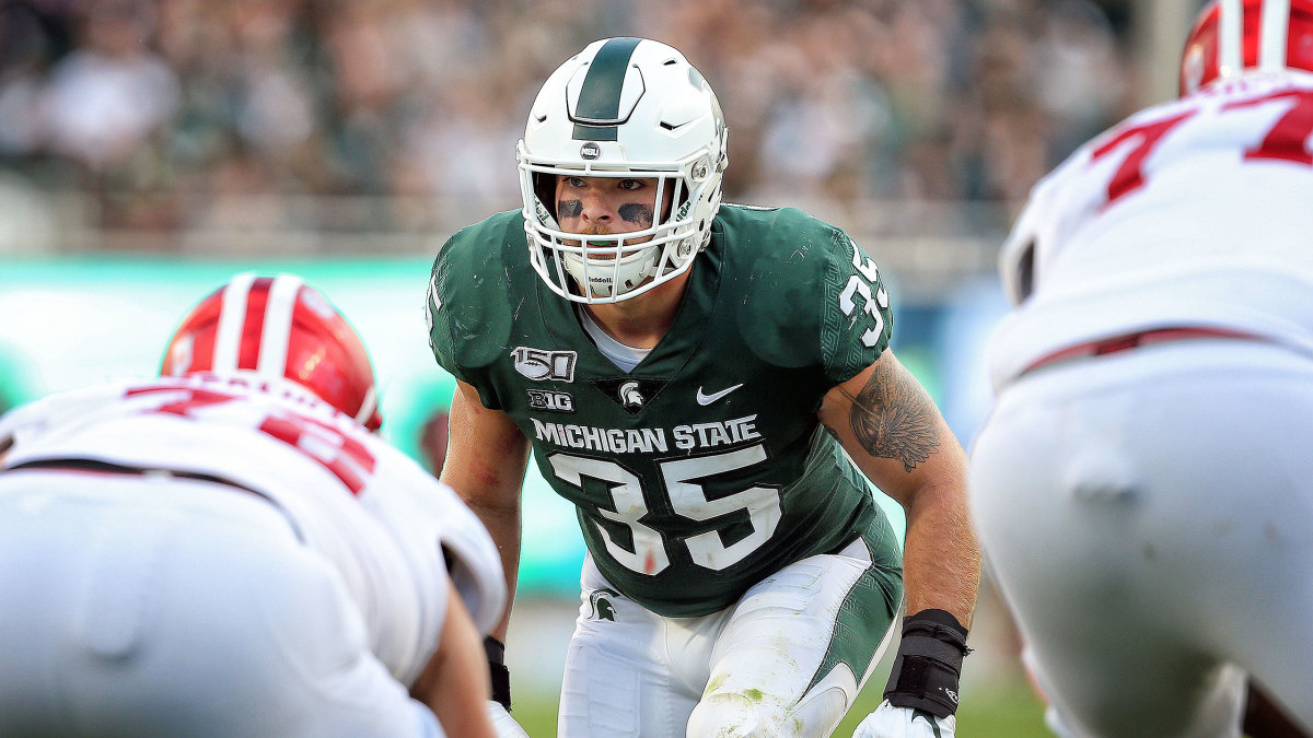 Michigan State Joe Bachie NFL suspended
