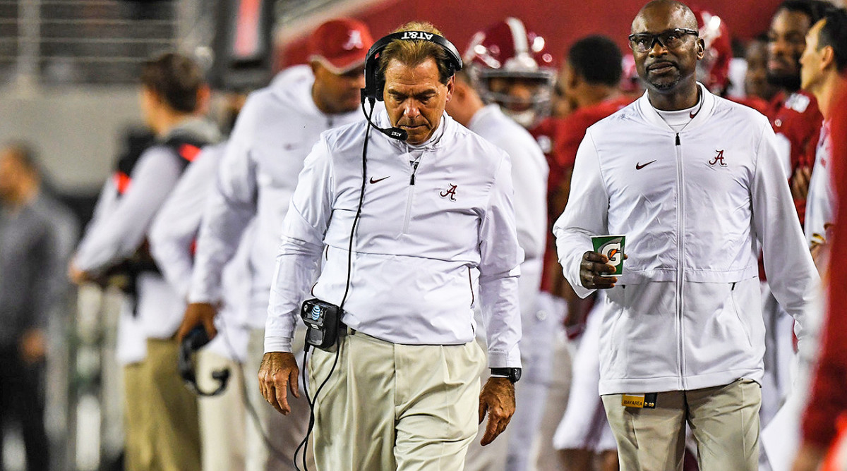 Alabama's Title-Game Failures Go Back to Nick Saban as Its Season Ends With a Whimper