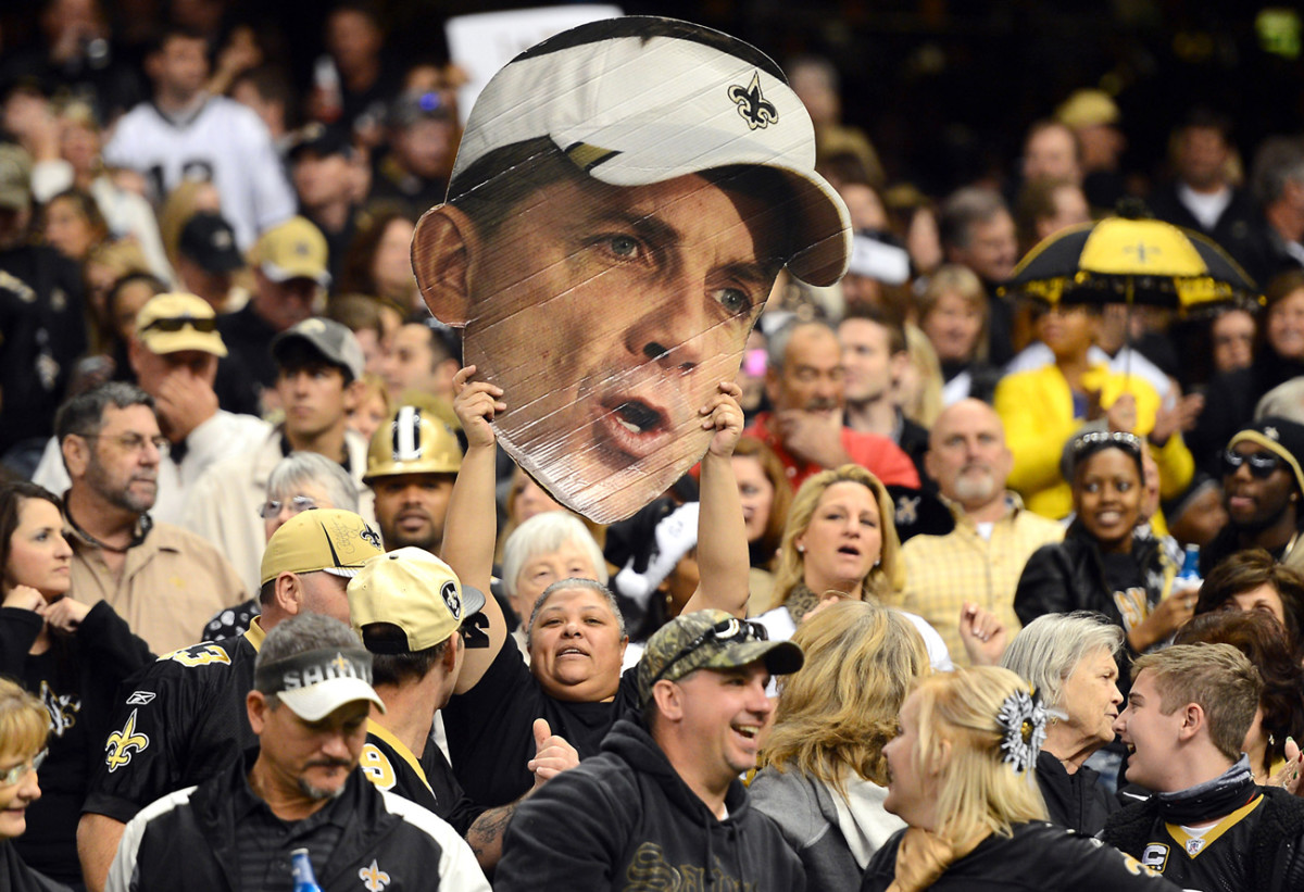 Fans had their coach in their hearts, and sometimes hands, during that 2012 season.