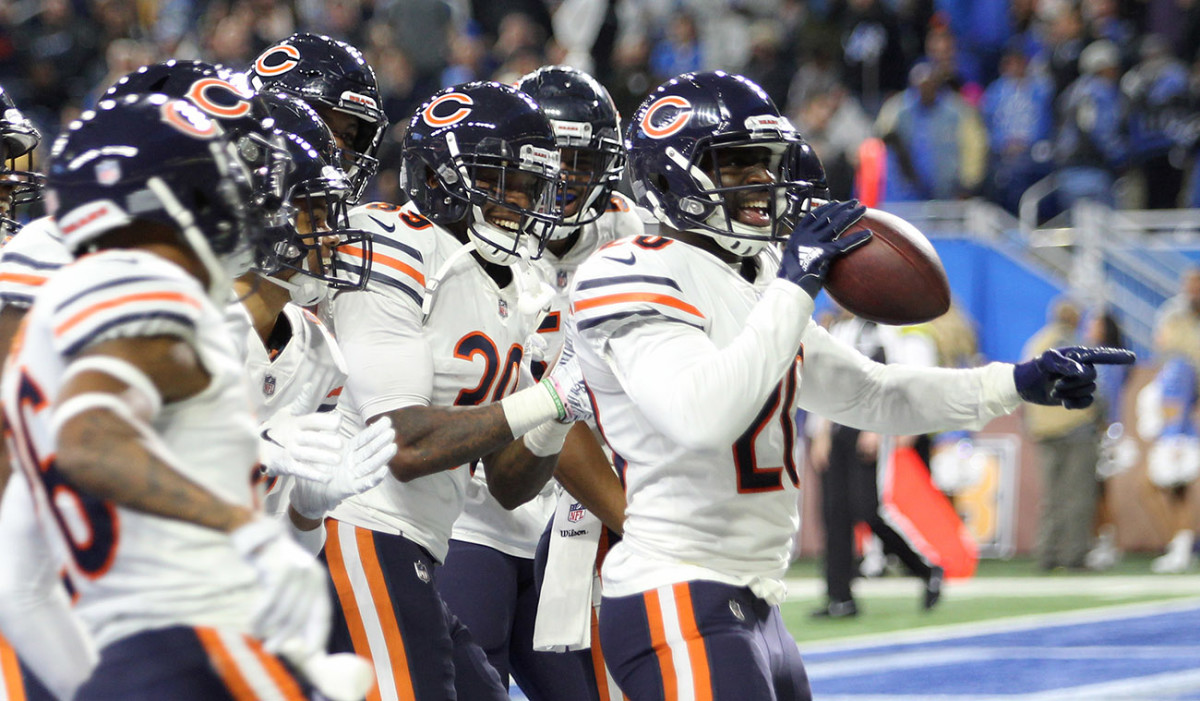 Amukamara and the defense's Thanksgiving Day tribute to Motown was one of the NFL's best celebrations of the year.