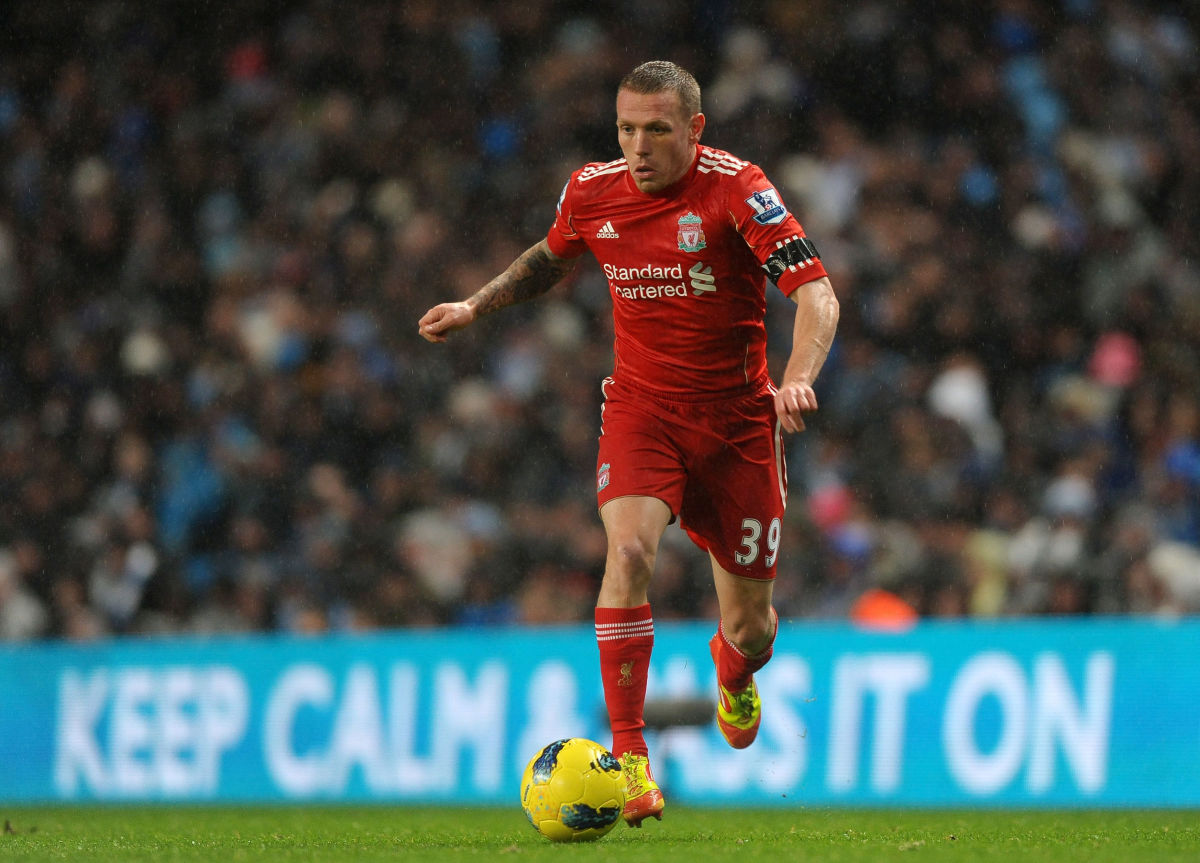 Liverpool's Welsh footballer Craig Bella