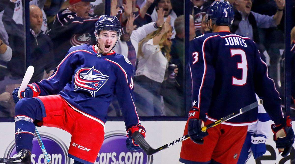 How Columbus pulled off historic upset sweep of Tampa Bay