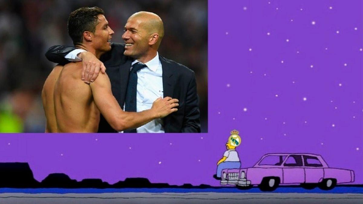 Uno de los memes tras la caída del Real Madrid en la Champions League