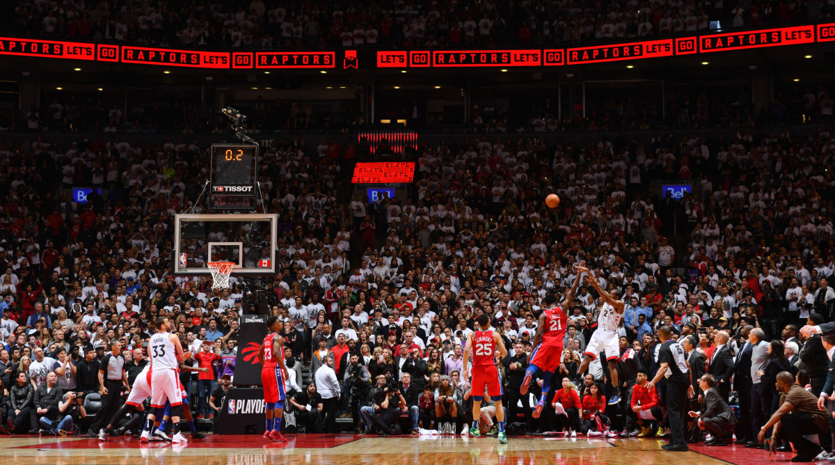 Kawhi Leonard Buzzer Beater How Nba Photogs Approached The Game 7 Shot Sports Illustrated