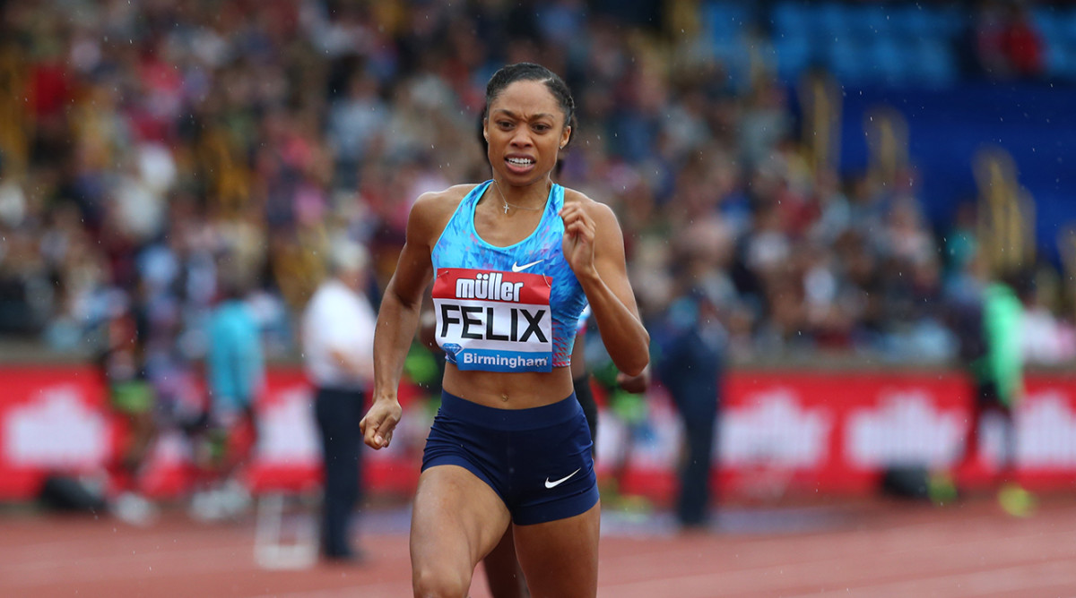 Allyson Felix: Nike contract talks stopped after maternity ...