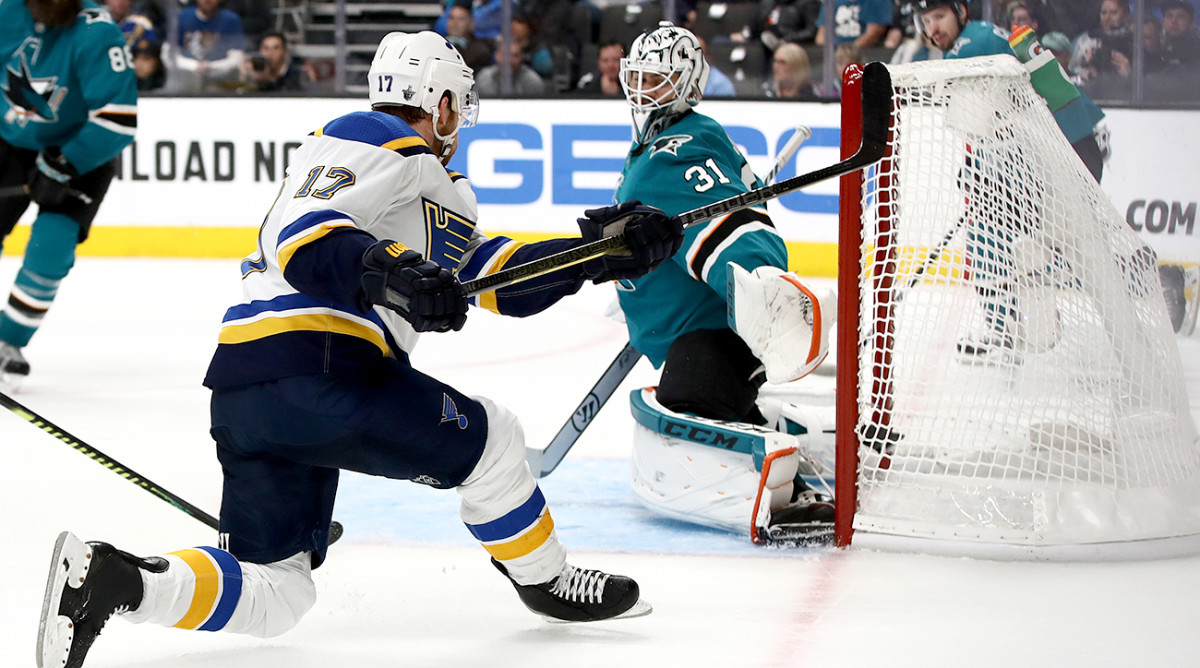 San Jose Left With Major Injury Concerns After Blues Thump Sharks in Game 5