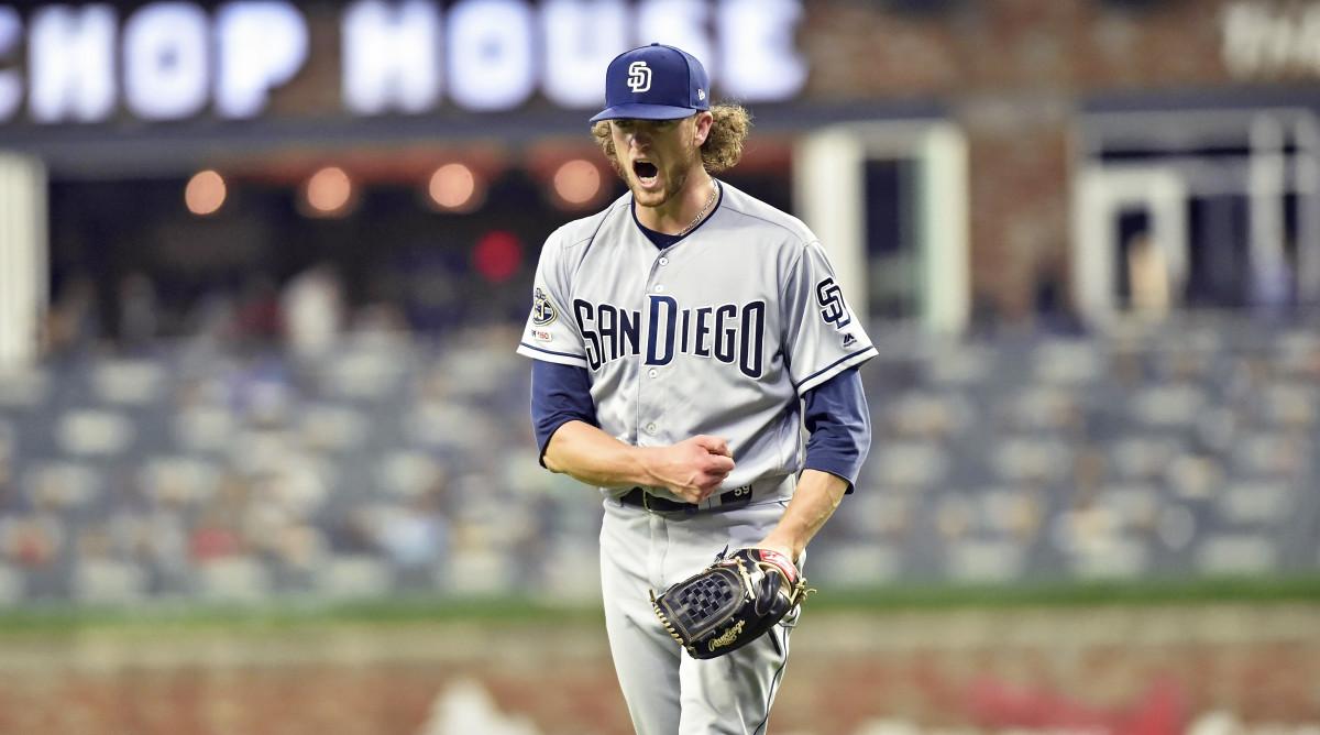 Resultado de imagen para Chris Paddack, San Diego Padres