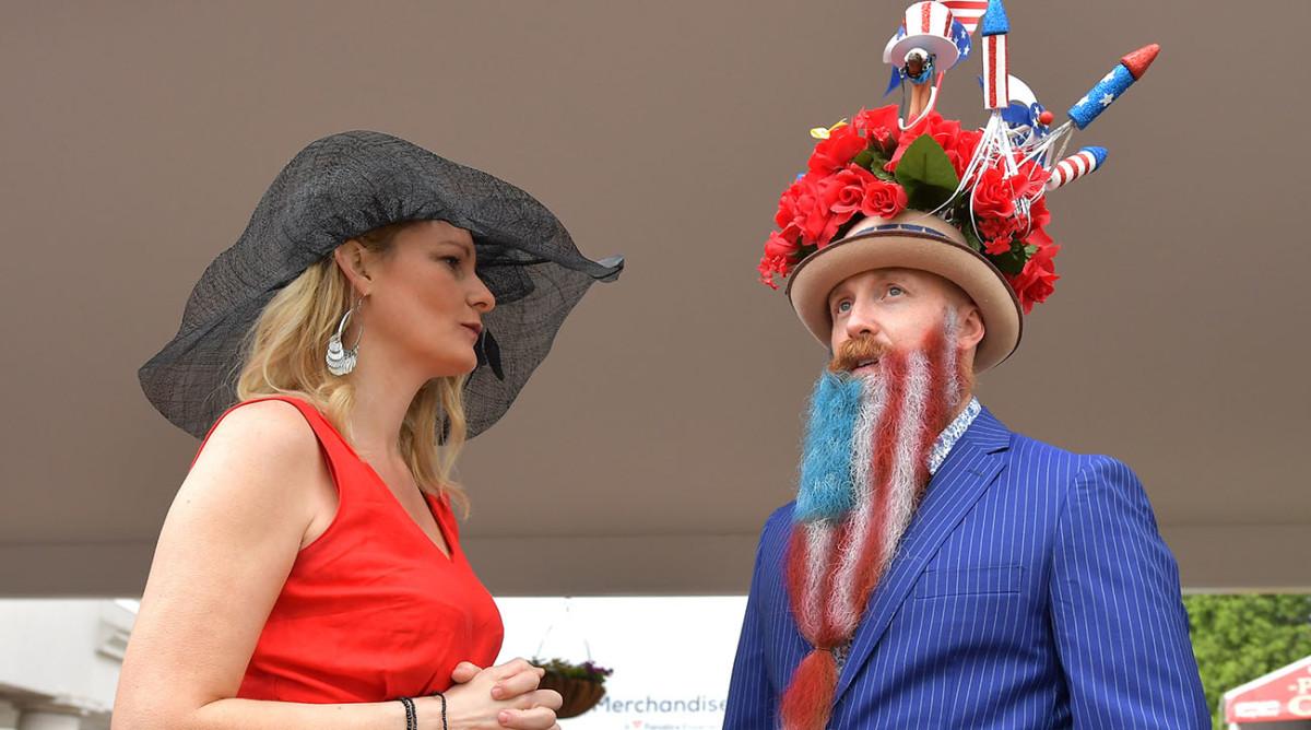 kentucky derby 2019 biggest hats boldest race day