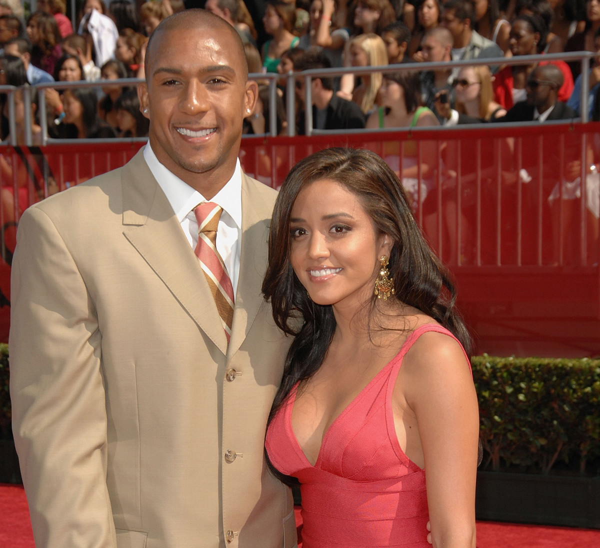 Winslow Jr. and wife, Janelle, at the 2008 ESPYs.