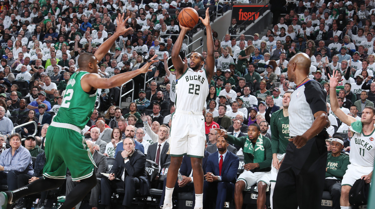 When the Bucks hit threes, they're a different animal