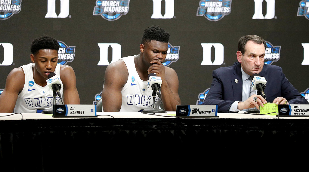 How Will Duke's Star-Crossed Season of Zion Be Remembered?