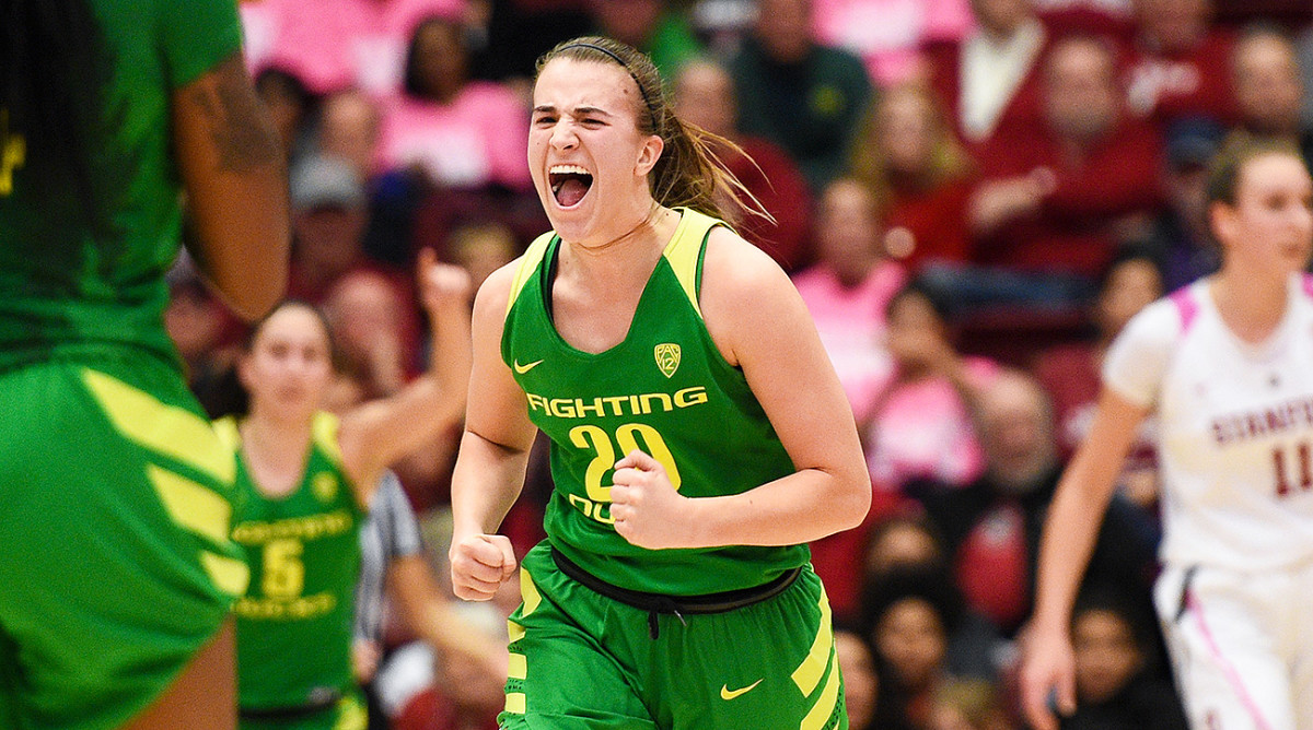 The Making of Sabrina Ionescu, Oregon's Lean, Mean, Triple-Double Machine