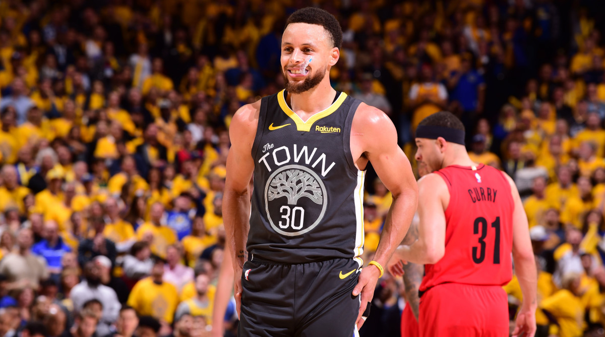 Steph outduels Seth in Warriors' Game 2 victory over Blazers