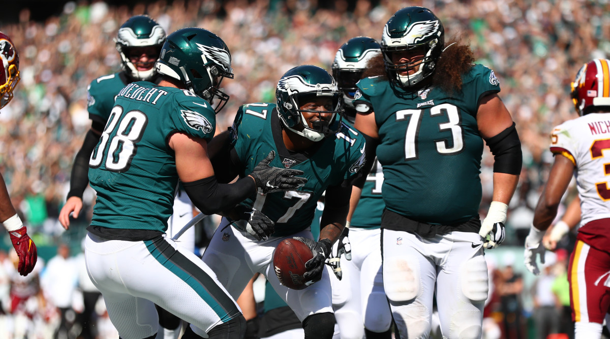 Eagles Vs Falcons Live Stream Watch Online Tv Channel Time Sports Illustrated
