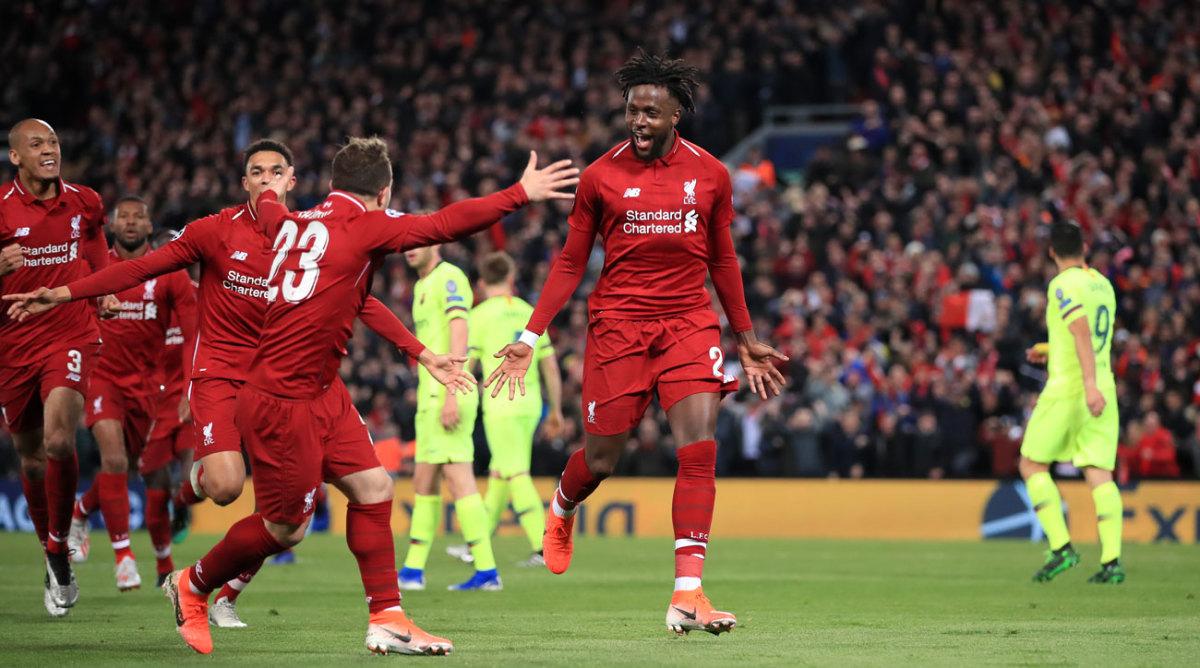 Inside short-handed Liverpool's comeback vs. Barcelona
