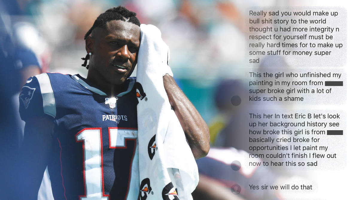 Antonio Brown Accuser Says He Sent Her 'Intimidating' Text Messages After SI's Story