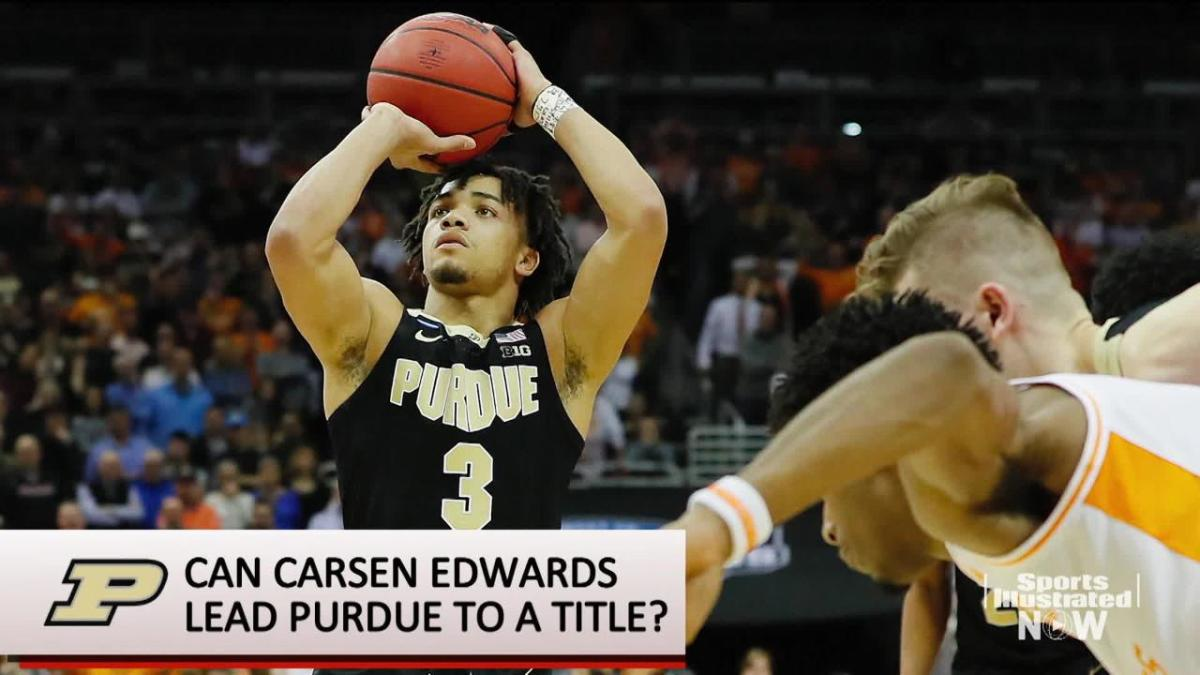 Carsen Edwards Does His Best Kemba Walker Impression In Purdue S Win Over Tennessee