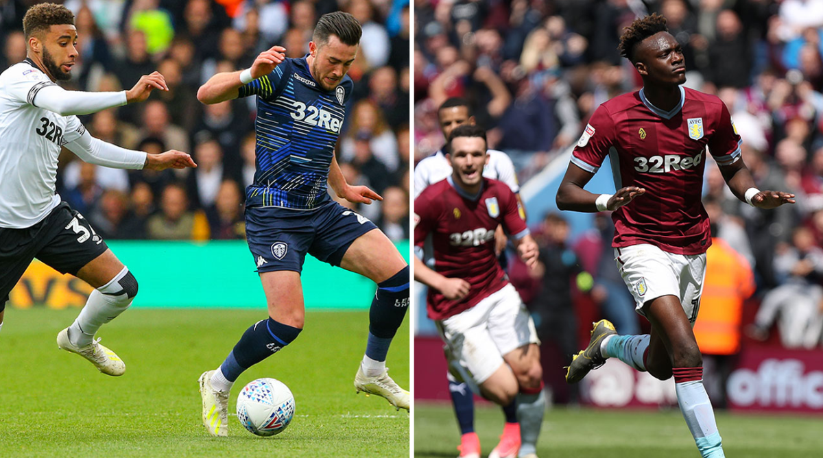 Aston Villa, Leeds grab wins in first leg of Championship ...