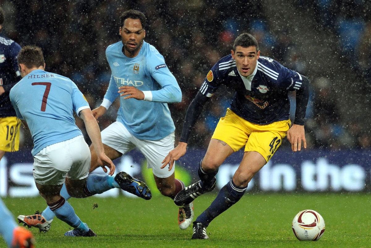 FC Red Bull Salzburg's Uruguayan forward