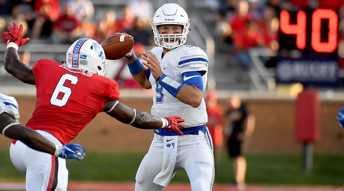 NFL draft news, rumors: FCS QB buzz, Gruden loves Lock? - Sports ...