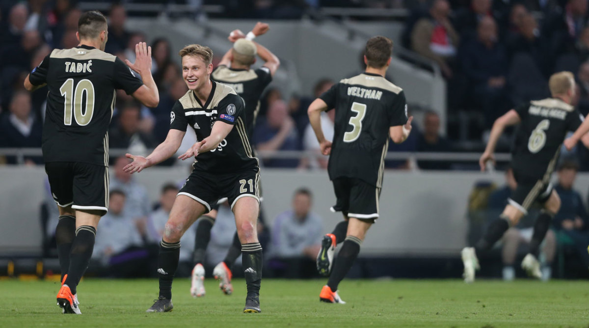 Ajax deserves its lead over Tottenham, but is it enough?