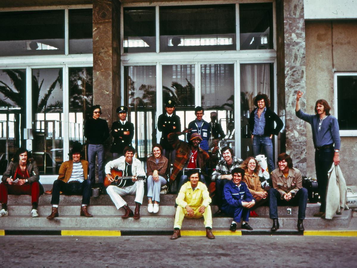 McGregor Tour team picture, 1973.
