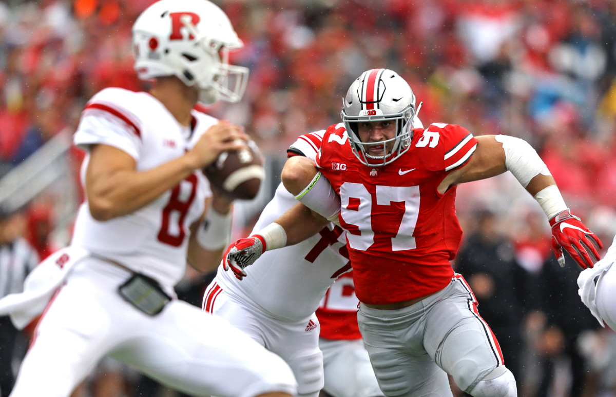 Bosa had a steaming start to the 2018 season that had him anticipating a run at the national title and maybe even the Heisman.