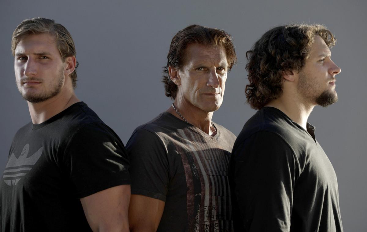 The Bosas: Joey, John and Nick.