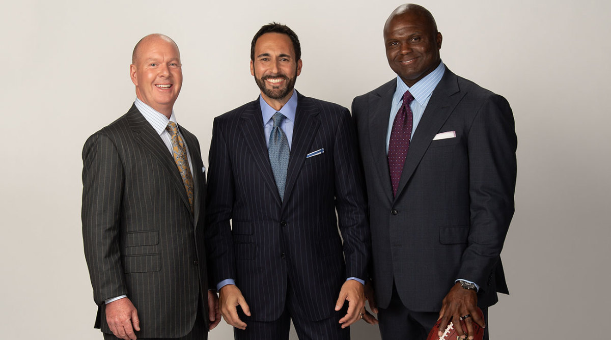 Reviewing Espn S New Monday Night Football Booth Joe Tessitore Booger Mcfarland Sports Illustrated