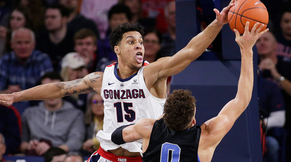 Bracket Watch: Gonzaga Moves to a No. 1 Seed After Big Ten Upsets