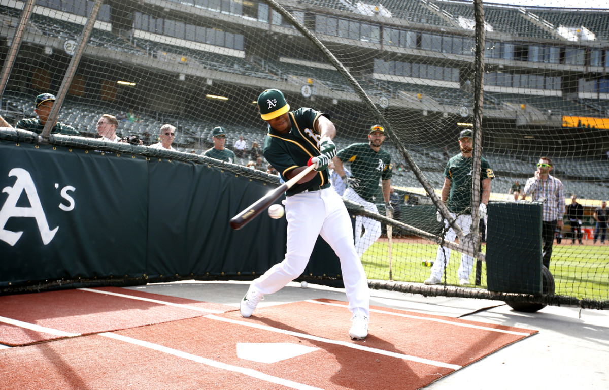 The A's drafted Murray ninth overall in June 2018, gave him a $4.6 million signing bonus, and a source says they offered an additional $14 million in January to stick to baseball.