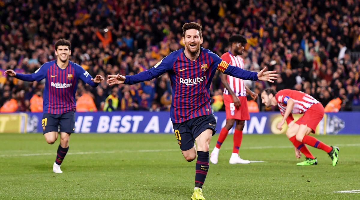 Barcelona struggles in a must win match v Atletico Madrid ...  |Barcelona-atlético Madrid