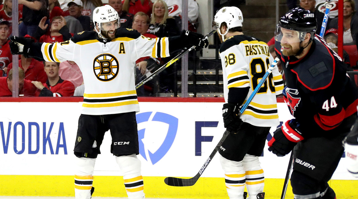 Bruins off to Stanley Cup Final after sweeping Hurricanes