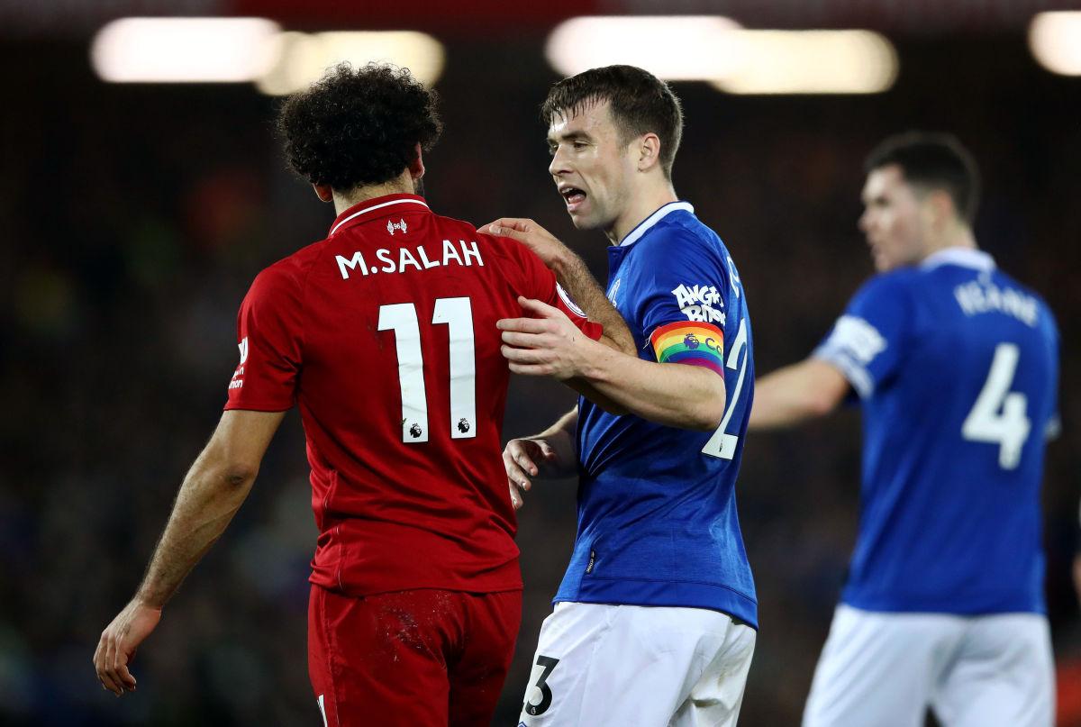 Seamus Coleman,Mohamed Salah