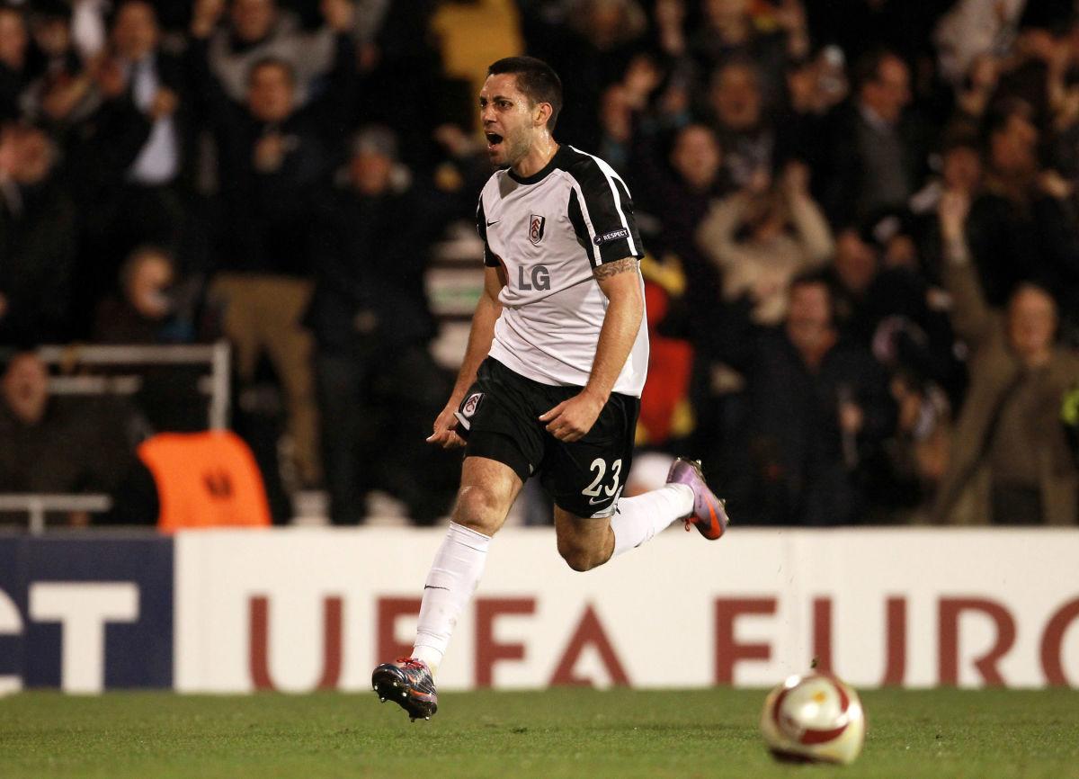 Clint Dempsey scores vs. Juventus
