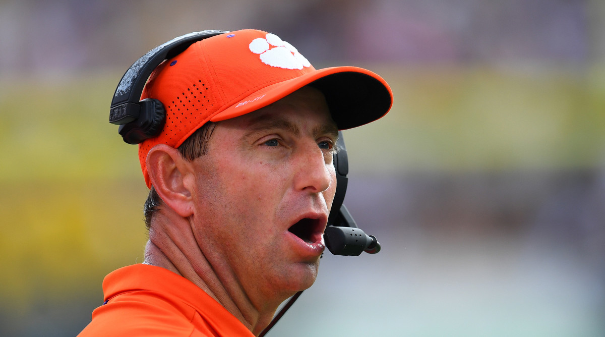 Dabo Swinney says Clemson's still looking at how players ...