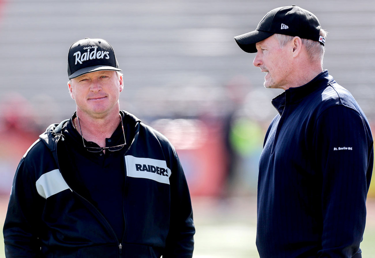 Gruden picked Mayock's brain before the 2018 draft; by the next draft he was Oakland's GM.