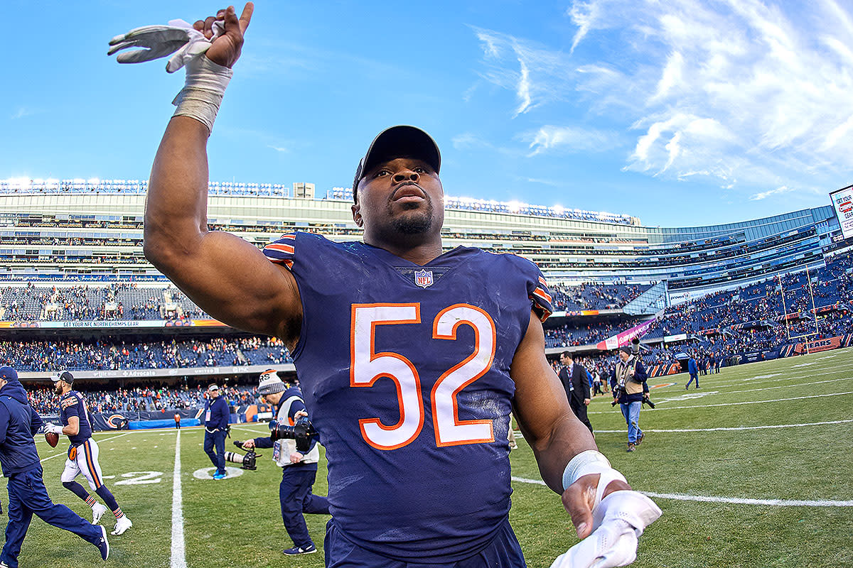 Almost exactly one year ago, Khalil Mack became a Bear.