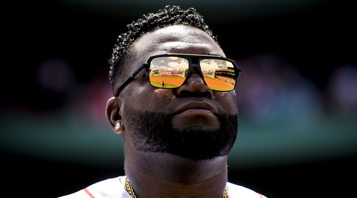 David Ortiz Throws Out First Pitch at Red Sox-Yankees Game in Fenway Return
