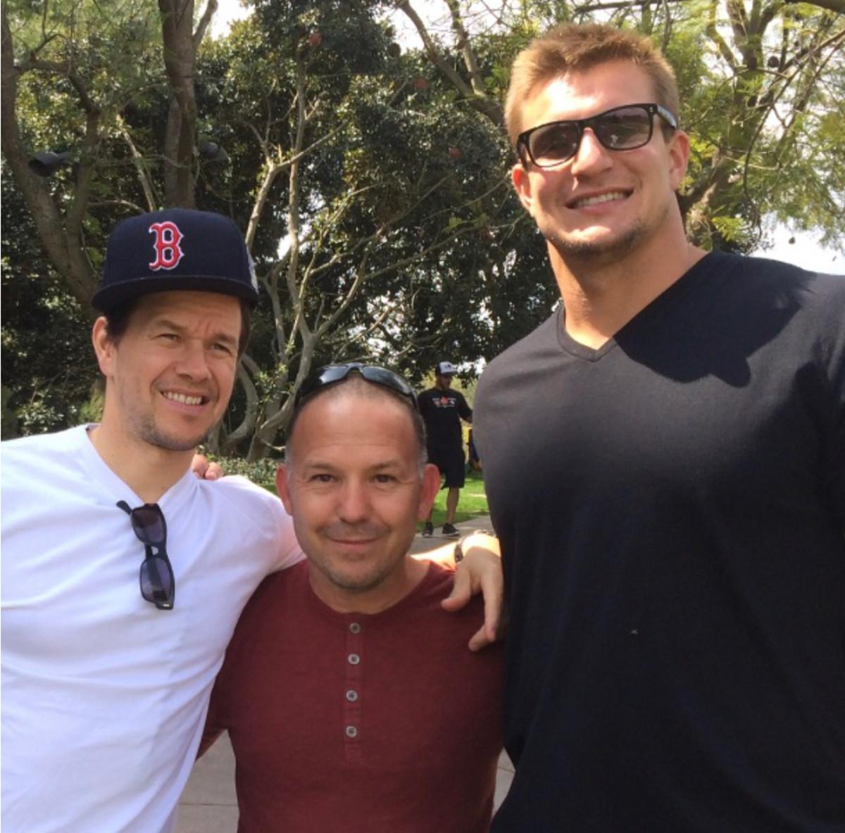 Wahlberg, Penzi and Gronk.