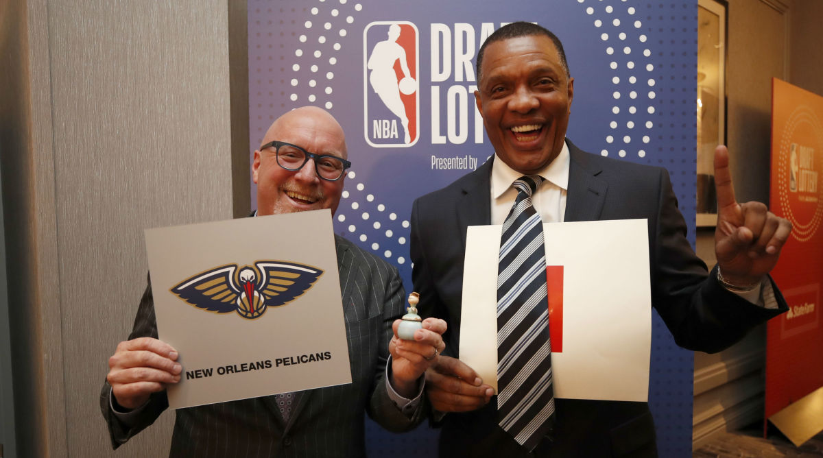 'Not So Fast, My Friend.' Inside the Pelicans' Lucky Lottery Win
