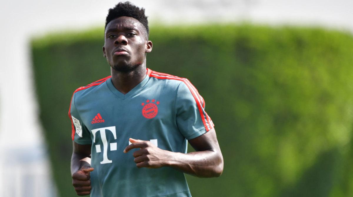 Alphonso Davies starts Bayern Munich journey after his ...