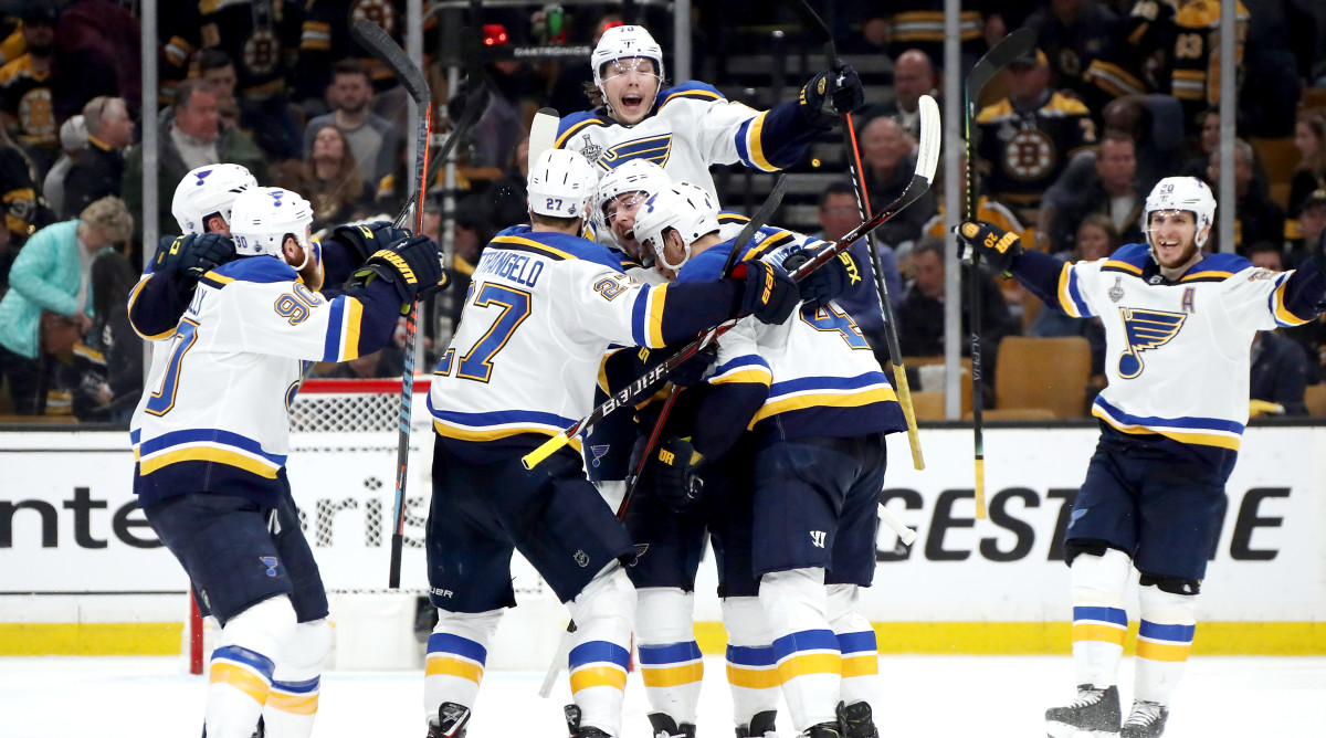 With Sweet Relief, Blues Finally Get First Stanley Cup Final Win
