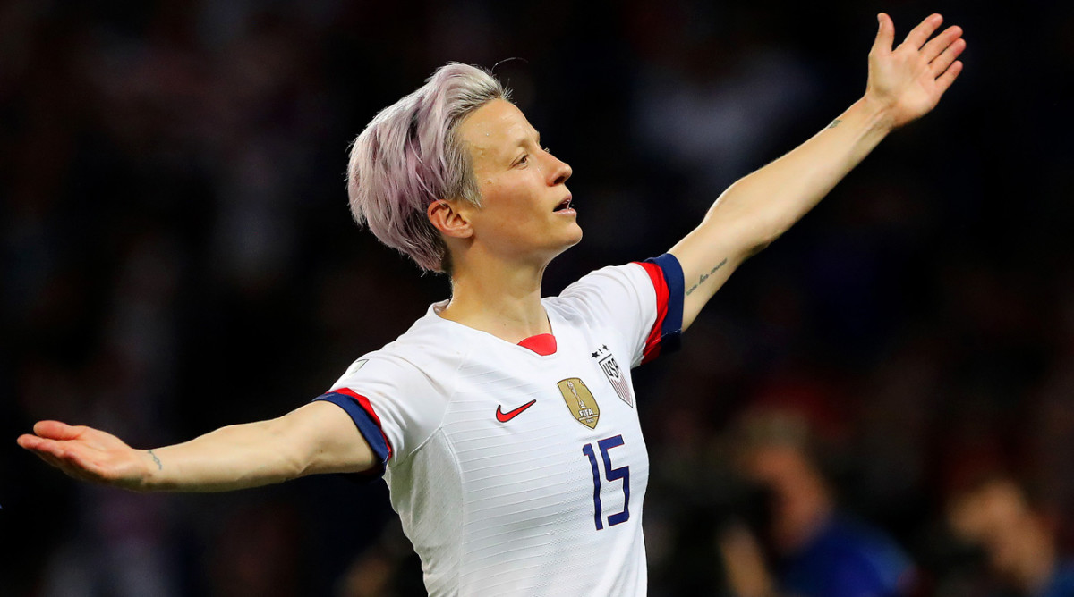 Megan Rapinoe's Pride Shines Through as She Embraces Her Biggest Challenges