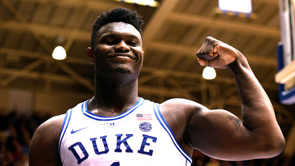 Zion Williamson weight: Duke star added 100 pounds in two