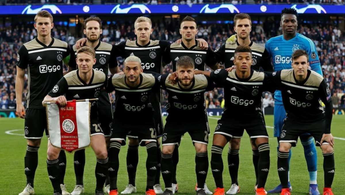 How much Ajax's starting XI vs. Tottenham is worth